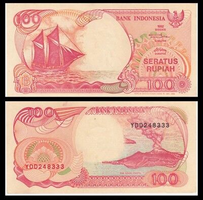 INDONESIA 100 Rupiah, 1992, P-127, UNC World Currency