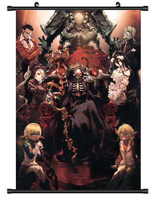 5748 Overlord Decor Poster Wall Scroll cosplay