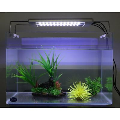 36 LED 7.5W Waterproof Aquarium Fish Tank Light Lamp Blue and White Submersible