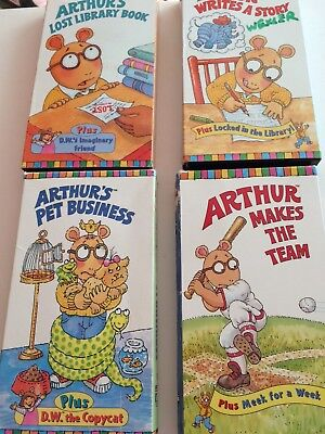 lot of 4 arthur vhs lost library book makes the teamwrites story