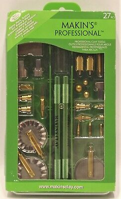 NEW Makin's Professional 27 Piece Clay Tools Set