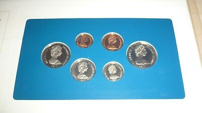7 Coins Set of Solomon Island UNC Very Beautiful