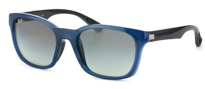 fc9556a7172 Authentic RAY-BAN 4197 - 604211 Sunglasses Blue Grey  Grey Gradient  NEW