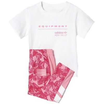 Equipment Bébé Fille Ensemble Tee-shirt/Legging Rose