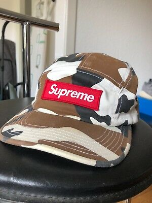 supreme bogo cap camo/red 5 panel