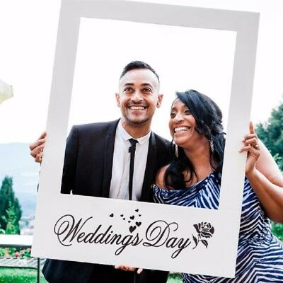 Wedding Favors DIY Anniversary Photo Frame Props Photo Booth Party Decoration
