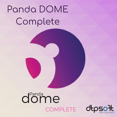 Panda Dome Complete 2020 3 Devices 3 PC 12 Months Global Protection 2019 US