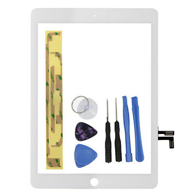 "For 2017 iPad 9.7"" A1822 A1823 White Touch Screen Digitizer Replacement & Tools"