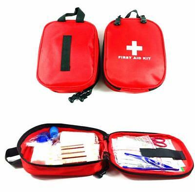 100 Piece FIRST AID KIT, Travel Home Car Van, Holiday, Sport, Bike, Work, Office