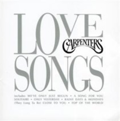 The Carpenters-Love Songs  (UK IMPORT)  CD NEW