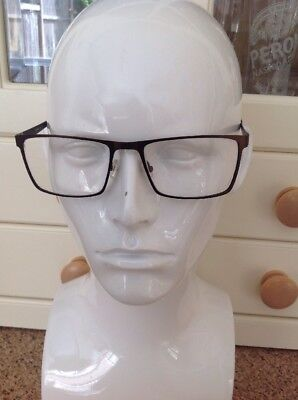 776270788c Signature By Boots Mens Brown Prescription Glasses Frames Used Good  Condition