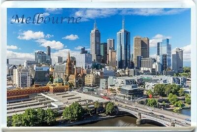 Melbourne, Australia Fridge Magnet 1