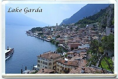 Lake Garda - Limone - Italy Fridge Magnet-1