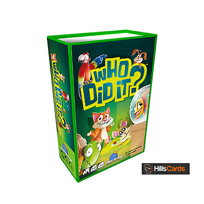 Who Did It? - Card Game By Blue Orange - 08301 - Memory, Board, Family, Party