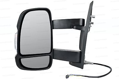 Left Wing mirror Complete Unit for Peugeot Boxer 2006-2018 Long Arm