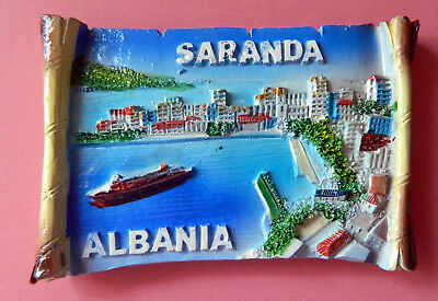 Souvenir 3D Fridge Magnet from SARANDA, ALBANIA