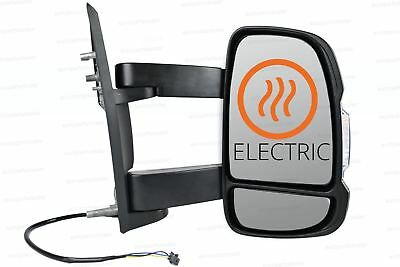 Right Wing mirror Complete Unit  for Fiat Ducato 2006-2018 Long Arm Electric