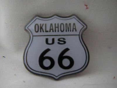 Oklahoma state lapel pin (US 66) COLLECTOR  Rare New!