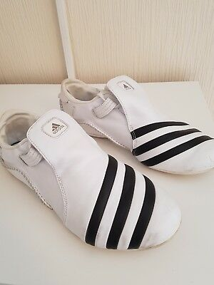 Adidas martial arts trainers size 9 great condition real leather uppers