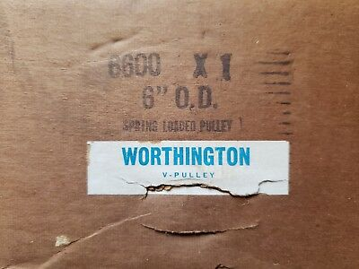 6600x1 WORTHINGTON SPRING LOADED PULLEY