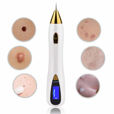 Electric LCD Portable Laser Freckle Warts Dot Mole Dark Spot Tattoo Removal Pen