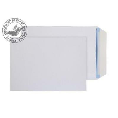 Peel & Seal Quality C5 Plain White Everyday Mailing Envelopes 100GSM 162 X 229mm