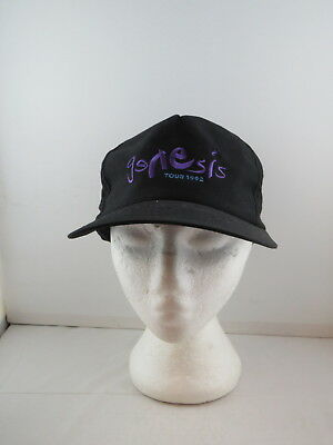Vintage Band Tour Hat - Genesis 1992 World Tour - Adult Snapback