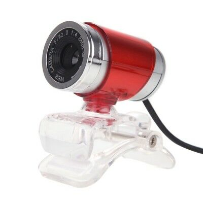 USB 2.0 12 Megapixel HD Camera Web Cam with MIC Clip-on 360 Degree for Desk F6Z8