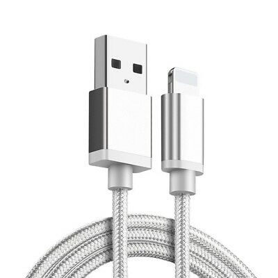 M-TECH For Apple iPhone X 8 7 6 OEM Lightning USB Charger Cable Charging Genuine