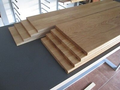 13 stairs oak cladding system1 - oiled with Premium Hardwax-Oil - SUPER PRICE!!!