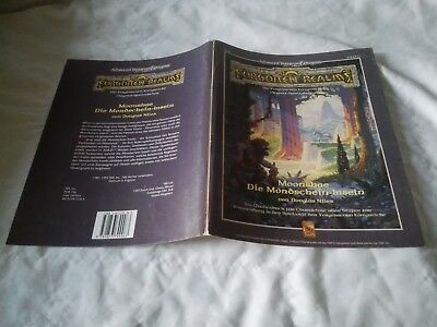 MOONSHAE DIE MONDSCHEIN INSELN AD&D 2nd  ADVANCED DUNGEONS & DRAGONS SEHR GUT