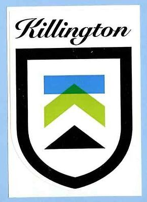 Killington Vermont Ski Snowboard Decal Bumper Stickers