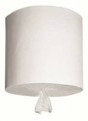 New Abc Abc Style-19300 Deluxe Centreline Roll Towel 300M - 1 Ply White Carton