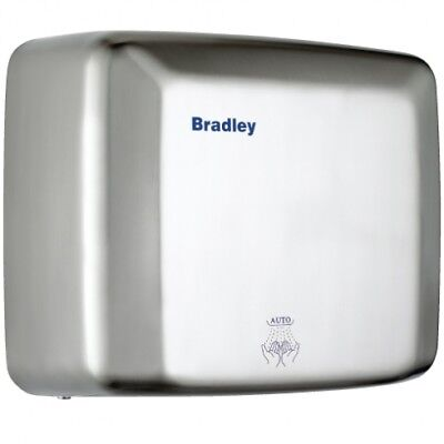 New Bradley 220-250A Hand Dryer Auto - Silver 270Mm W X 240Mm H X 142Mm D
