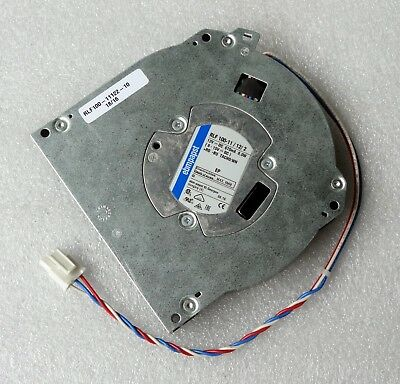 """EbmPapst 127mm x 25mm Blower Fan 5"""" 12V RLF100-11/12 Ebm-Papst Made in Hungary"""