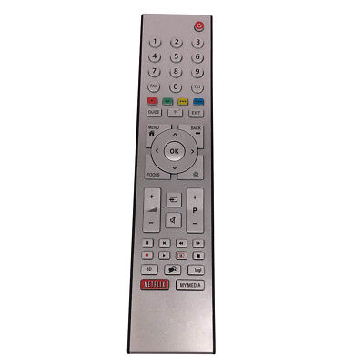 New Replacemant RC3304807/01 For Grundig 3D TV TP7187R-P1 Netflix Remote Control