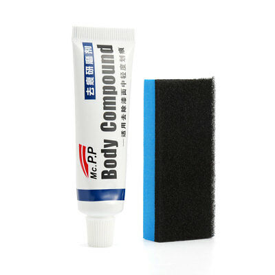 Scratch Remover with Sponge Brush MAGIC Eraser Paste Body Compound Wax
