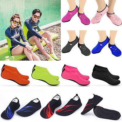 Men Women Water Shoes Aqua Sock Yoga Exercise Beach Reef Swimming Diving Surfing