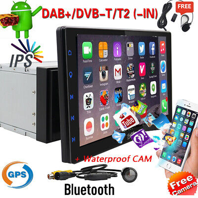 """7"""" 2Din Car Android Radio Bluetooth GPS Wifi Stereo Video DVD Player+HD camera"""