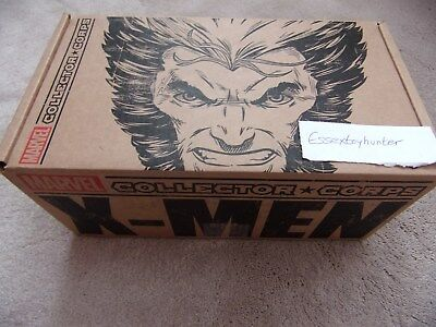 Marvel Collector Corps X-MEN WOLVERINE Box NEW Funko w/ Logan on Motorcycle #26