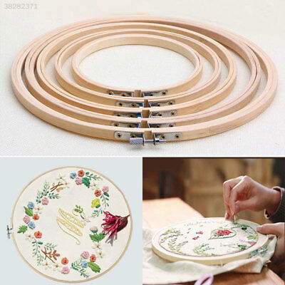 Bamboo Frame Embroidery Machine Needlework Sewing Hand Tool Cross Stitch
