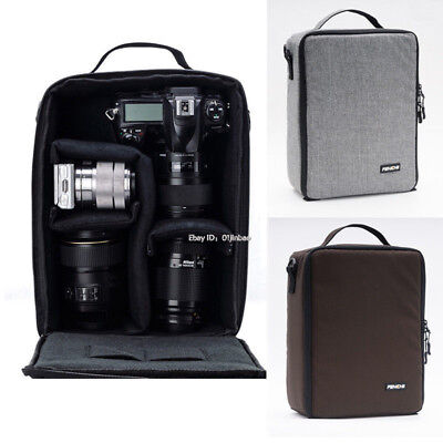 Large Camera Bag Insert Carry Case Partition For Canon Nikon Sony DSLR SLR Lens