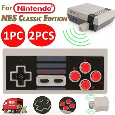 Wireless Controller Video GamePad for Mini Nintendo NES Classic Edition System B