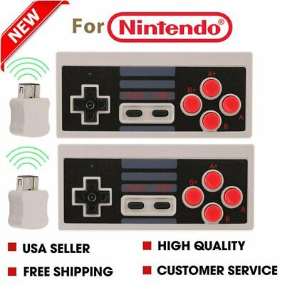 For Nintendo NES Classic Edition Mini Video System GamePad Wireless Controller B