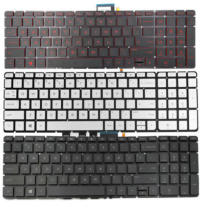 Replacement Backlit Keyboard Without Frame For HP Pavilion 15-AU100 15-AU118CA 15-AU147CL 15-AU151NR 15-AU158NR 15-AU159NR 15-AU183CL 15-AU193CL US Layout Black Color