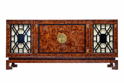 20Th Century Burr Art Deco Style Sideboard