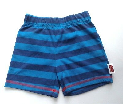 Disney Baby Boys Mickey Mouse Blue Striped Shorts 18-24 Months 1-2 Years Bnwot