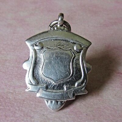 Vintage Silver Hallmarked Football Medal / Watch Fob.