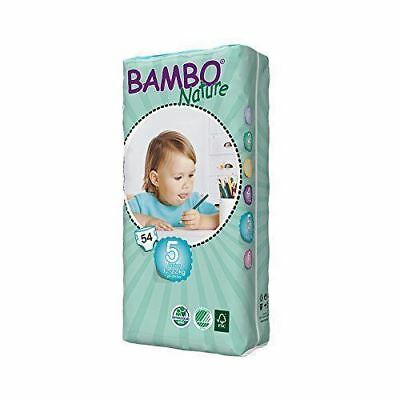 Beaming Baby Bambo Junior Nappies 54's Pieces (Pack of 2)