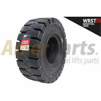 Forklift Tyre 27x10-12/8.00 Solid Non Marking WRST Standard Black Non-stop usage